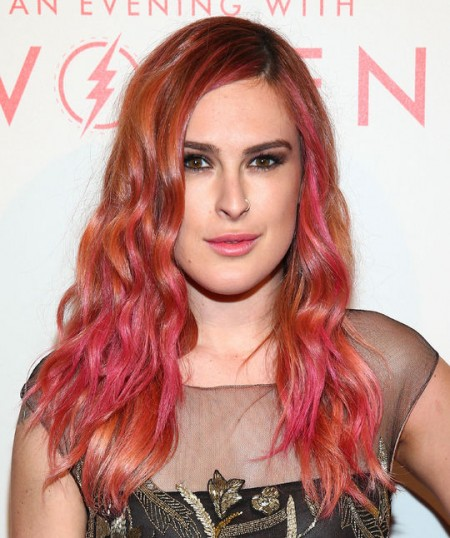 rumer-willis-pink-orange-hair-w540