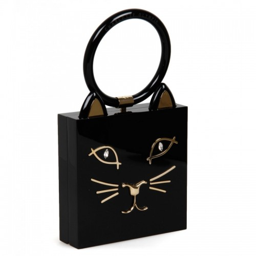 charlotte-olympia-black-perspex-kitty-clutch-bag
